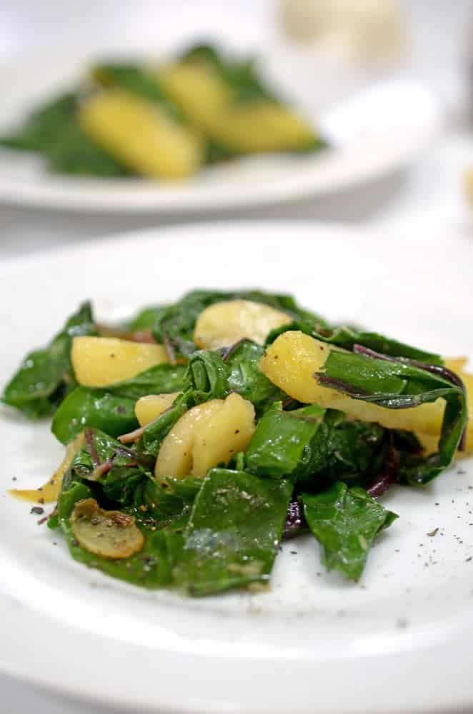 Blitva (Swiss Chard and Potatoes)
