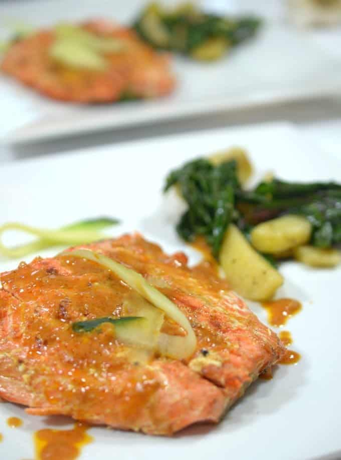 Grilled Sriracha Salmon from Platter Talk