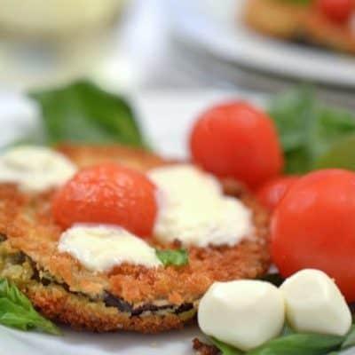 Eggplant Bruschetta sans Bread