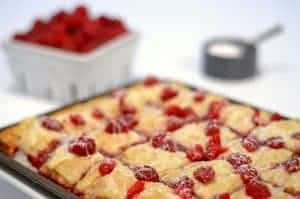 Raspberry Brownie Baklava
