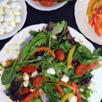 Roasted Pepper Salad Olive Cellar Giveaway