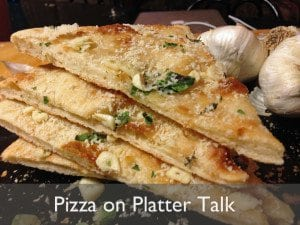 Pizza on Platter Talk