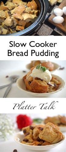 Easy crock pot recipes bread pudding