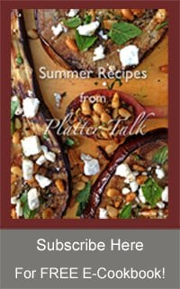 Summer Recipes from Platter Talk