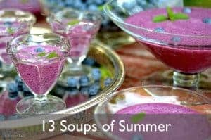 Soups of Summer on Platter Talk