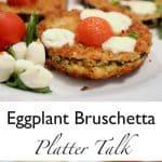 Eggplatnt Bruschetta
