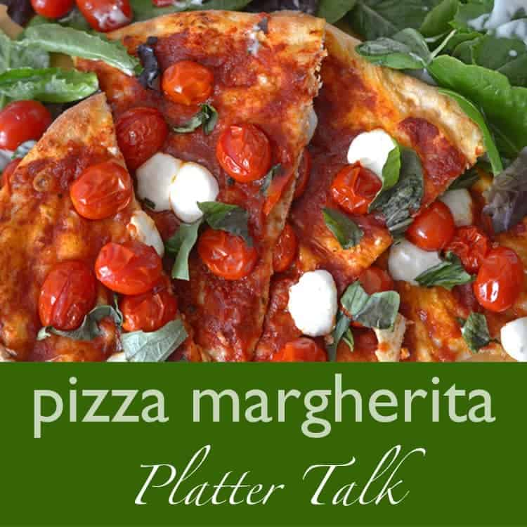 Pizza Margherita Fast and Easy