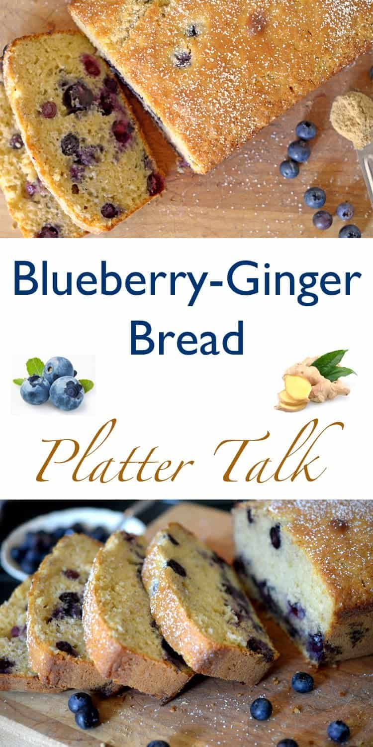 Blueberry ginger bread rustic simplicity platter talk for Rustic simplicity