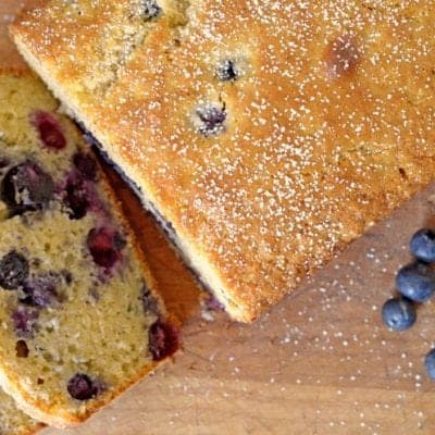 Blueberry-Ginger Bread, Rustic Simplicity