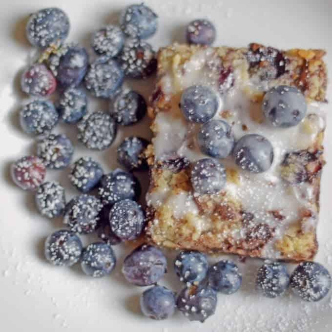 Blueberry Chocolate Streusel