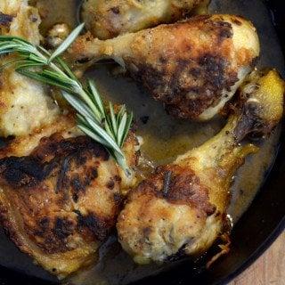 Rosemary Lemon Chicken #Sunday Supper