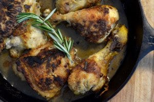 Julia Child's Lemon Herb Roast Chicken Recipe