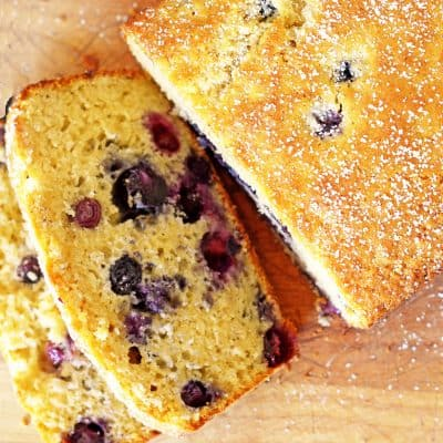 Blueberry Bread with Ginger