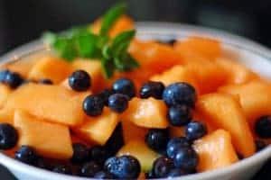 Blueberries on Platter Talk
