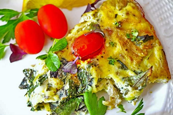 crustless vegetable quiche recipe is the best crustless quiche recipe you will find. Make this cast iron quiche soon.
