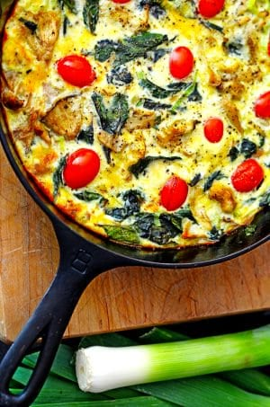 You're going to love this cast iron quiche recipe!