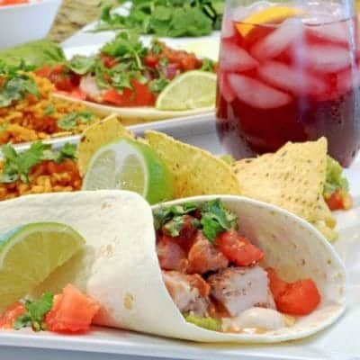 Tacos de cerdo sobrantes  (Leftover Pork Tacos) Recipe & Video