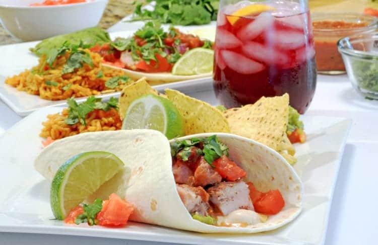 Tacos de cerdo sobrantes (Leftover Pork Tacos)