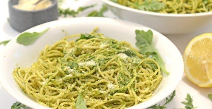 Arugula Pesto Pasta, New Summer Taste Sensation