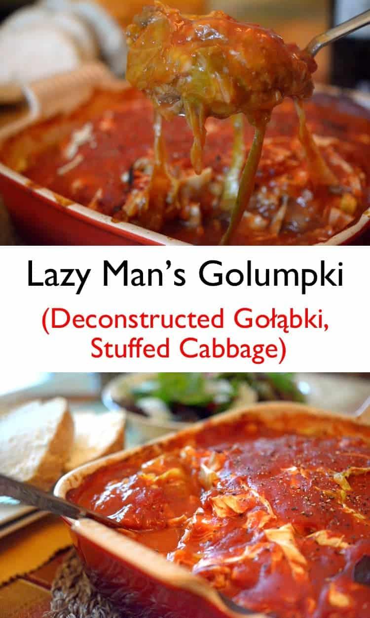 Lazy Man's Golumpki (Deconstructed Stuffed Cabbage.)
