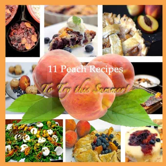Peach Recipes on Platter Talk