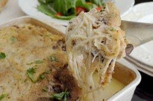 Easy Chicken Tetrazzni Recipe