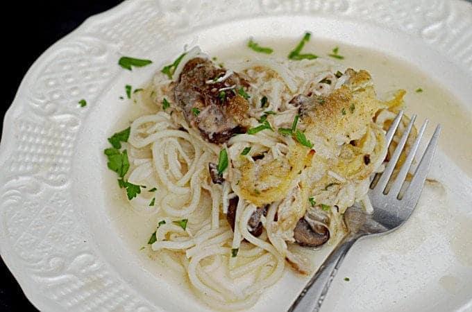 Easy Chicken Tetrazzini Recipe