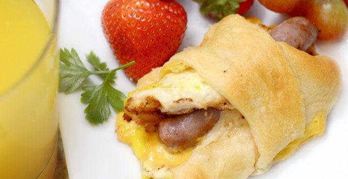 Johnsonville Back to School Breakfast Croisausages