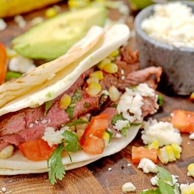 No-Brainer Grilled Steak Tacos