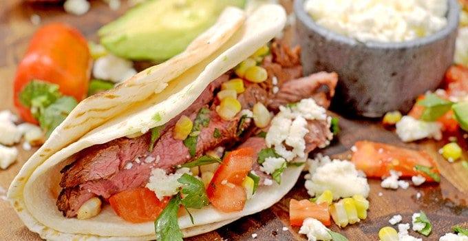 No-Brainer Grilled Steak Tacos