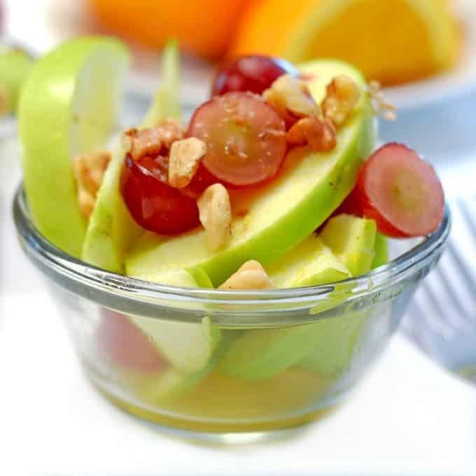 Apple-Grape Salad with Citrus Vinaigrette