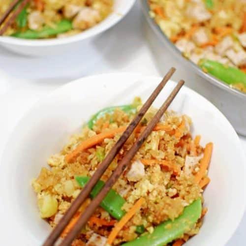 Cauliflower Pork Fried Rice