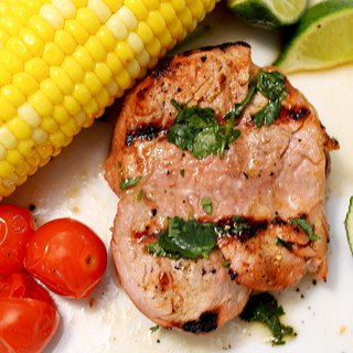 Alton Brown's Grilled Pork Tenderloin by Platter Talk