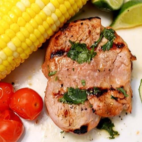 Alton Brown's Grilled Pork Tenderloin by Platter Talk