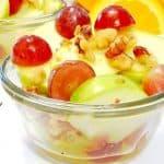 Apple-Grape Salad with Citrus Vinagrette