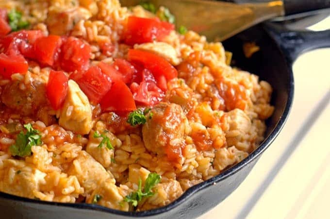 the best jambalaya recipe takes just 30 minutes to make.