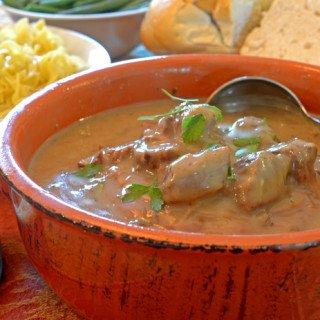 Slow Cooker Beef Tips Dinner