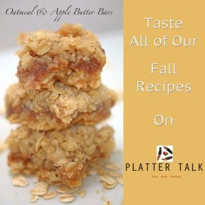 Fall Recipes on Platter talk