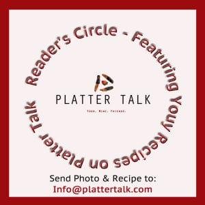 Reader's Cirlce Recipes on Platter Talk