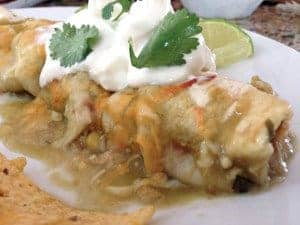 Chicken Enchiladas from Platter Talk