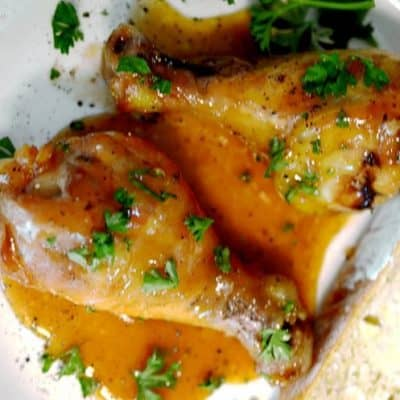 Honey Soy Chicken Legs Recipe