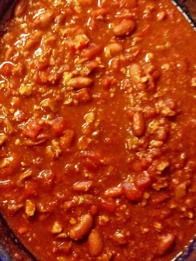 Slow Cooker Vegan Chili Recipe on Plattrer Talk