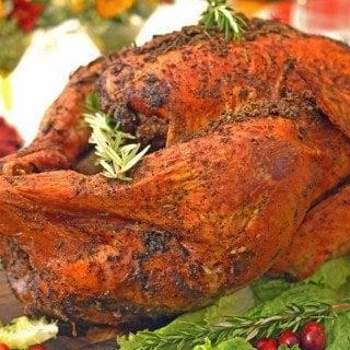 Roasted Savory & Citrus Turkey