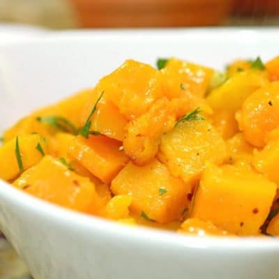 Roasted Garlic Squash & Parsley Recipe