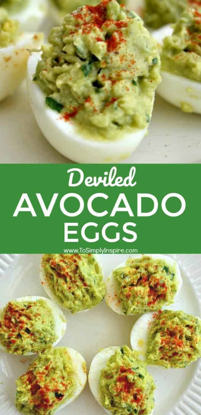 Don't miss these deviled avocado eggs and more avocado nutrition information from Platter Talk