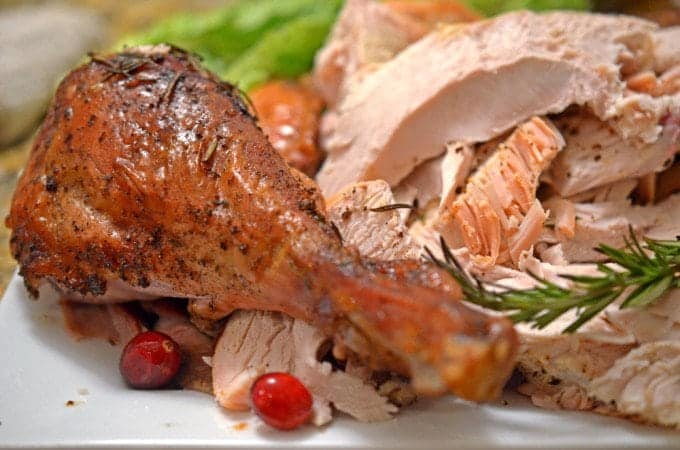 Roasted Savory & Citrus Turkey from Platter Talk