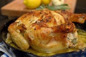 Jamie Oliver's Chicken in Milk on Platter Talk
