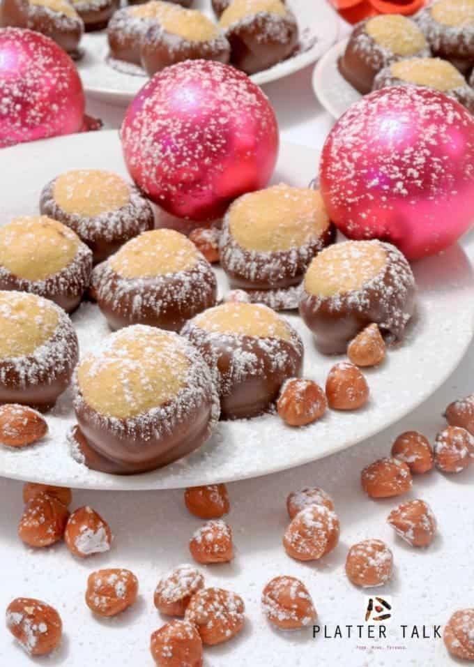 Hazelnut Buckeye Holiday Treats