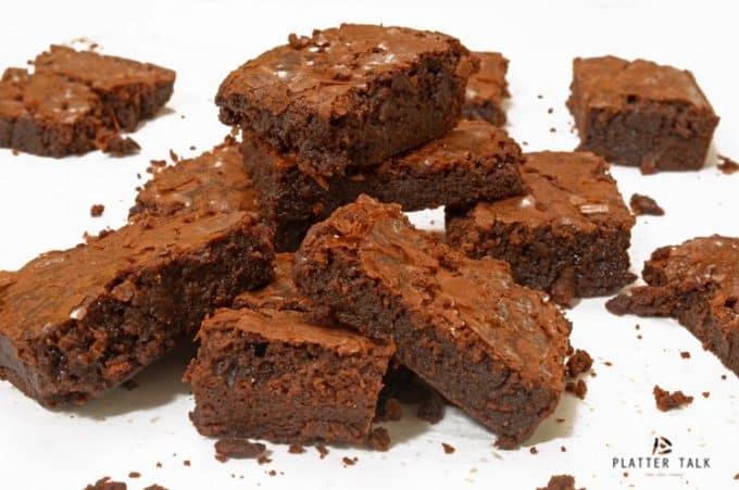 Supernatural Fudge Brownies Recipe Video - Platter Talk Kids