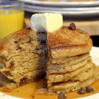 Whole Wheat Buttermilk Pancakes Recipe from Platter Talk
